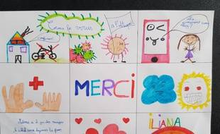 Les dessins des enfants de l'école de Roches-lès-Blamont, dans le Doubs.