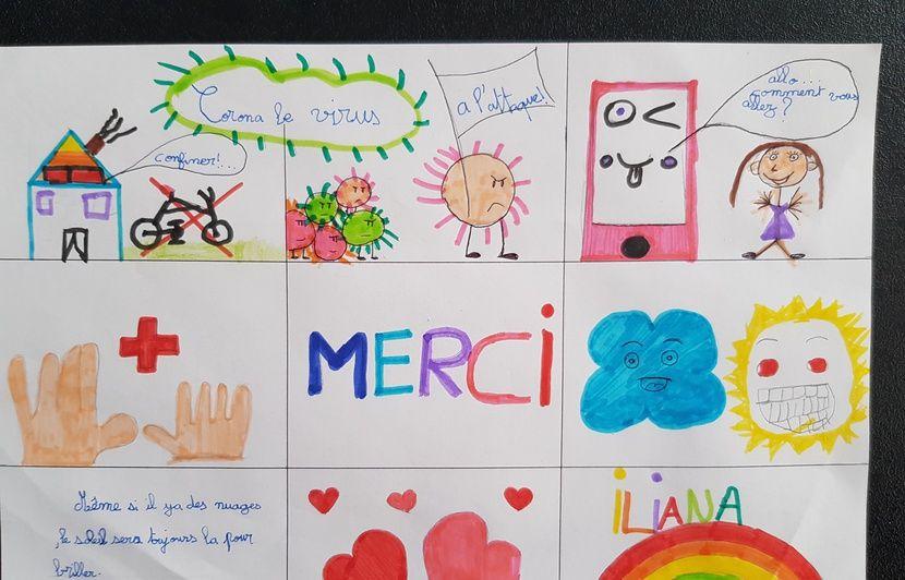Coronavirus Dans Le Doubs Les Enfants D Une Ecole Remercient En Chanson Ceux Qui Se Mettent En Danger Pour Nous