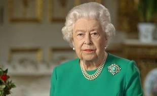 La reine Elisabeth II lors de son allocution à la Nation britannique, dimanche 5 octobre 2020.