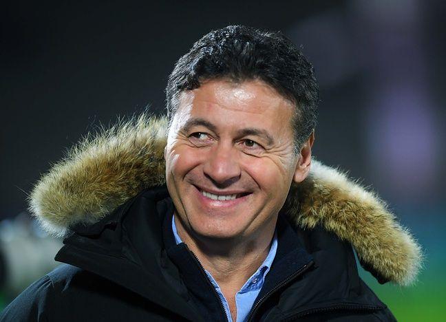 Laurent Marti, le président de l'UBB, a retrouvé le sourire cette saison.