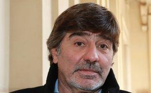 Michel Neyret à la sortie de la cour d'appel de Paris, le 4 avril 2018.
