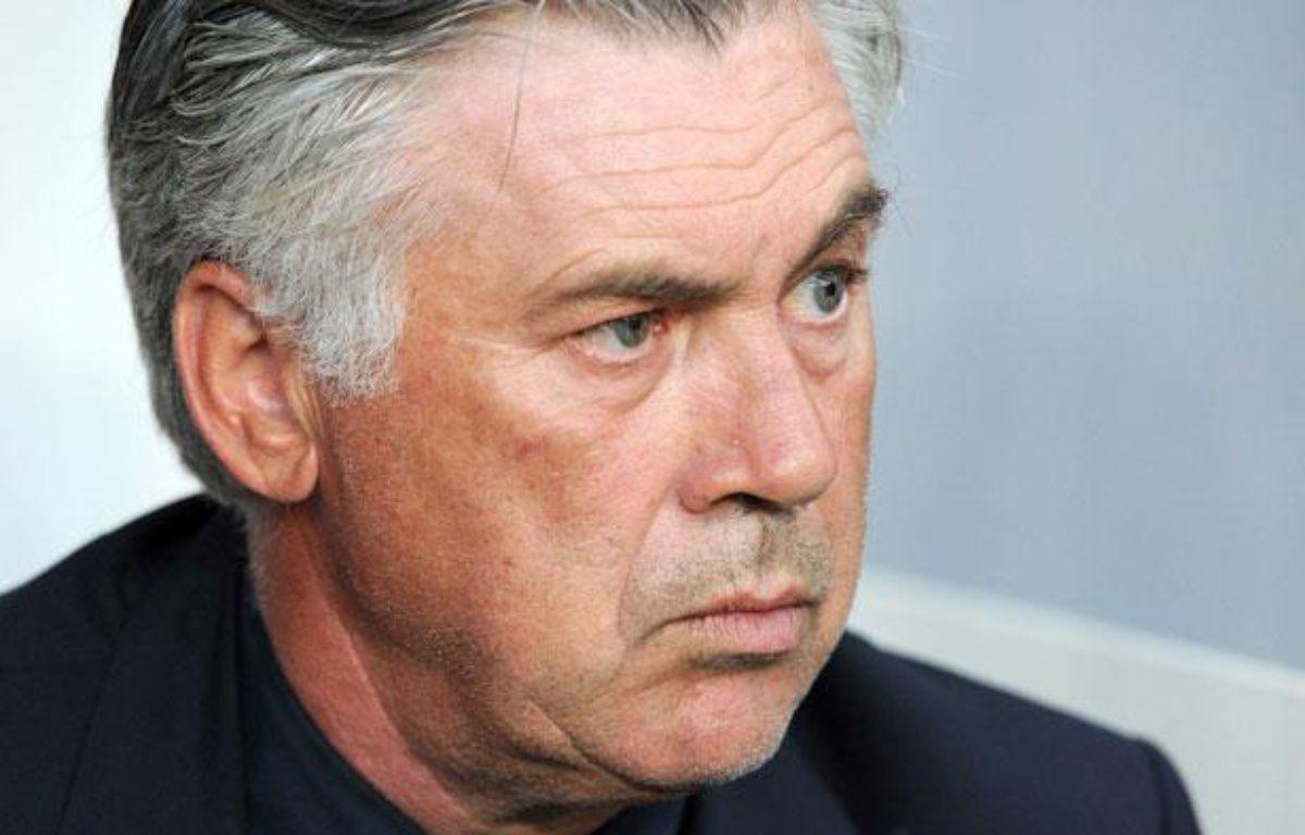 L'entraîneur parisien Carlo Ancelotti, le 4 août 2012 à Paris. – P.Emile/SIPA