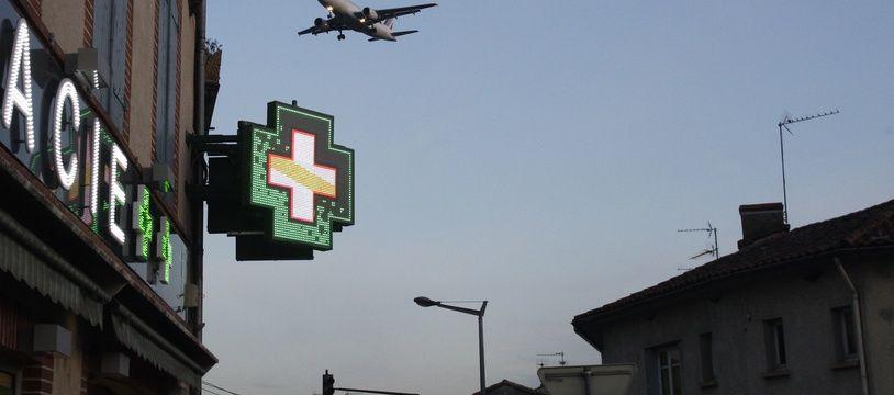 Avion en phase d'atterrissage à l'aéroport de Toulouse-Blagnac. Archives.