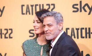 L'acteur George Clooney et sa femme, l'avocate Amal Clooney