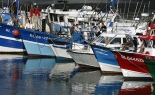 C'est un bateau de pêche qui a ramené les migrants à terre (illustration).
