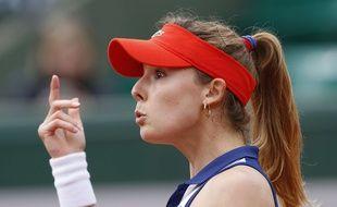 Alizé Cornet, le 28 mai 2014 à Roland-Garros.