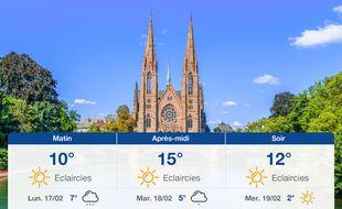 Météo Strasbourg: Prévisions du dimanche 16 février 2020
