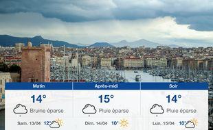 Météo Marseille: Prévisions du vendredi 12 avril 2019