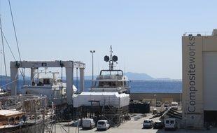 Marseille 08 AVRIL 2016 L'entreprise Compositeworks veut se développer
