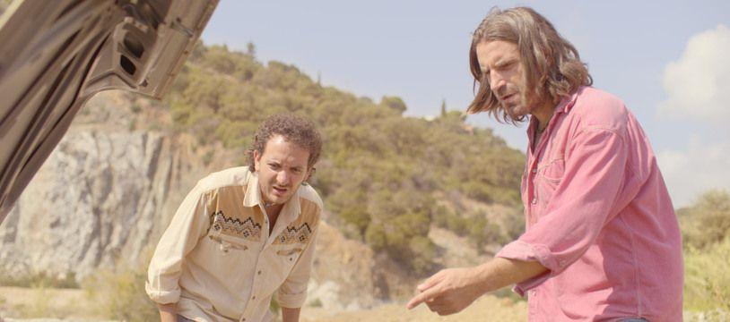 Grégoire Ludig et David Marsais dans «Mandibules» de Quentin Dupieux