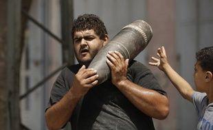 Un Palestinien dans la bande Gaza, le 5 août 2014.