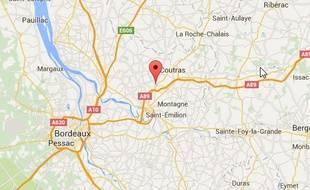 La ville de Saint-Denis-de-Pile.