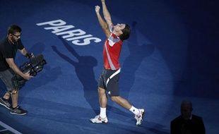 David Ferrer remporte son premier Masters 1000, le 4 novembre 2012 à Paris.