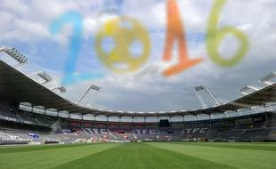 Illustration choix du stadiumde Toulouse  pour l'euro 2016.