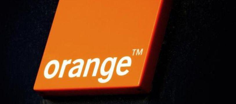 Le logo de l'opérateur de télécoms Orange