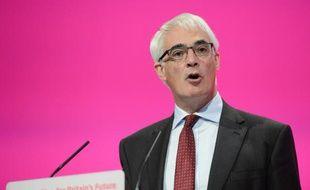 L'ancien ministre travailliste des Finances, Alistair Darling le 22 septembre 2014 à Manchester, en Grande Bretagne