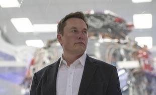 Elon Musk à Hawthorne, en Californie, le 10 octobre 2019.