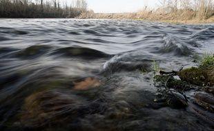 Les eaux de la Garonne. Illustration