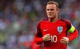 Wayne Rooney lors du match Angleterre-Slovaquie, le 4 septembre 2016.