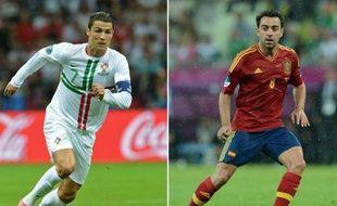 La demi-finale de l'Euro-2012 entre l'Espagne et le Portugal, mercredi à Donetsk, s'apparente à une réunion de famille ou à un clasico, puisque 26 des 46 sélectionnés évoluent en Liga, avec une Roja à coloration barcelonaise et une Seleccion madrilène.