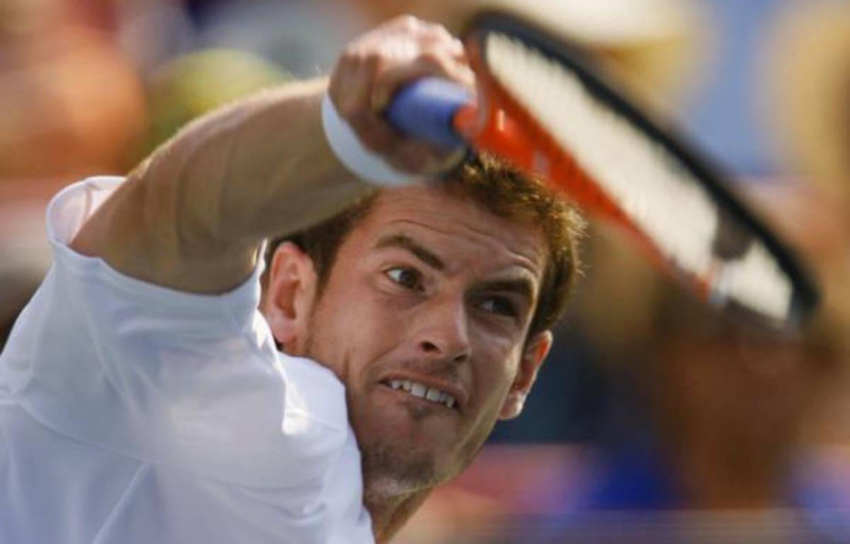 Andy Murray en demi-finale à Montréal, le 15 août 2009. – S.Best / REUTERS