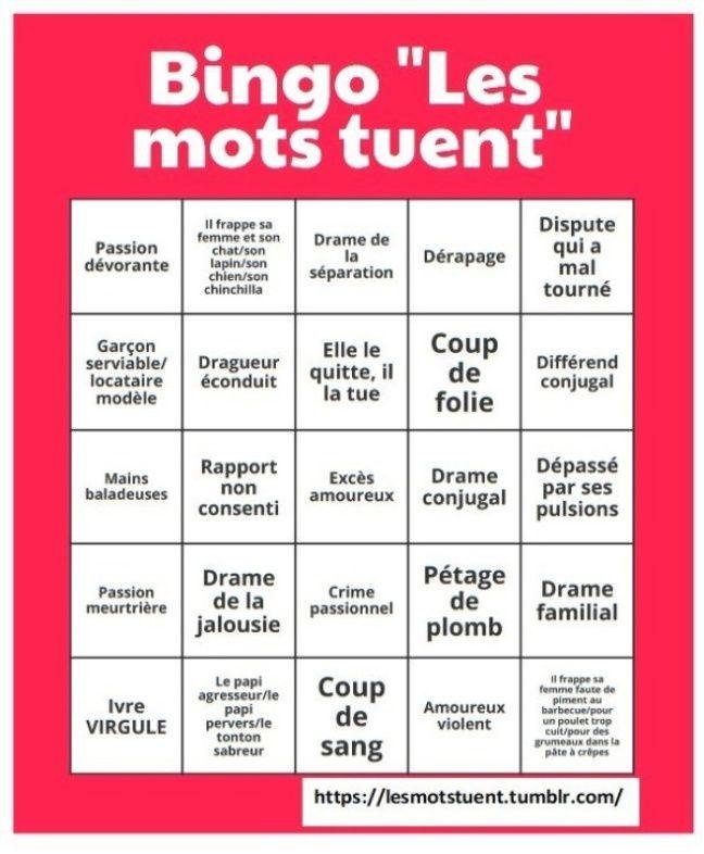 Le Bingo des
