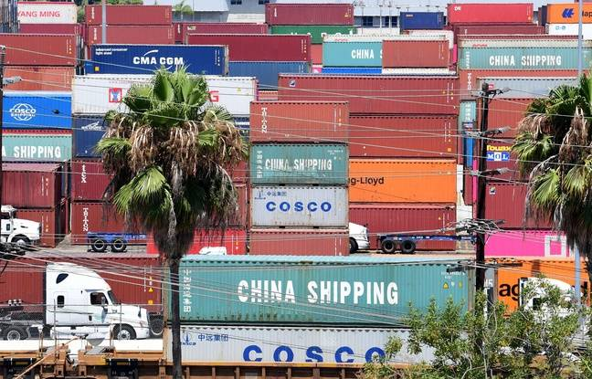 Le port à containers de Long Beach en Californie, le 23 août 2019