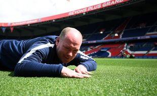 Jonathan Calderwood aime beaucoup l'herbe