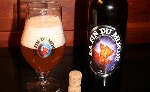 La bière québécoise «La Fin du monde».