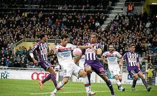 Yoann Gourcuff lors d'un match face à Toulouse, le 18 avril 2012