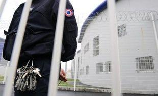 Illustration d'un surveillant pénitentiaire à la prison de Rennes-Vezin.