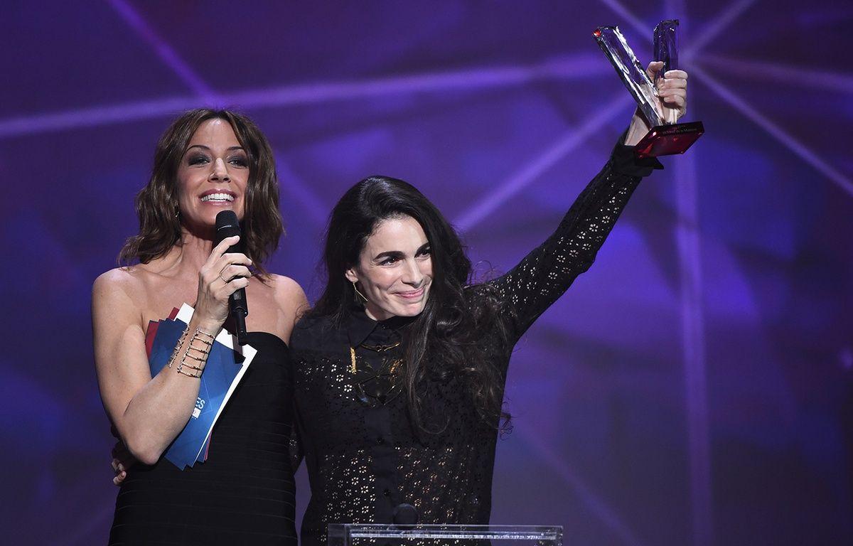 Yael Naim récompensée aux Victoires de la Musique le 12 février 2016. – BERTRAND GUAY AFP