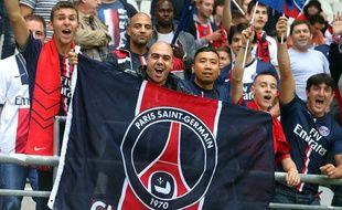 Le public du Parc des Princes lors d'un match du PSG, en août 2014.