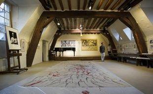 L'ancien atelier de Picasso, rue des Grands Augustins à Paris (6e), le 19 juin 2013.