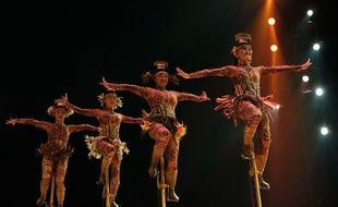 «Totem», un spectacle du Cirque du Soleil