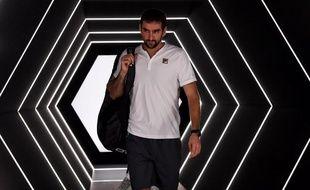 Marin Cilic affrontera Novak Djokovic en quarts de finale à Bercy.