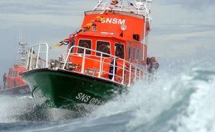 Illustration d'un bateau de la SNSM.