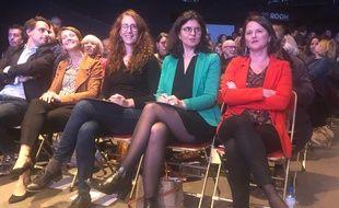 Laurence Garnier, Margot Medkour, Valérie Oppelt et Johanna Rolland sont candidates à la mairie de Nantes