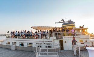 Le bateau Marco Polo avec ses nouveaux investisseurs, dont Boris Diaw