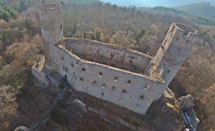 Le château du Haut-Andlau, dans le Bas-Rhin, est l'un des deux édifices sélectionnés pour le loto du patrimoine.