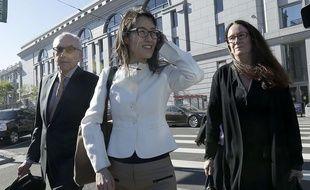 Ellen Pao devant le tribunal de San Francisco le 27 mars 2015.