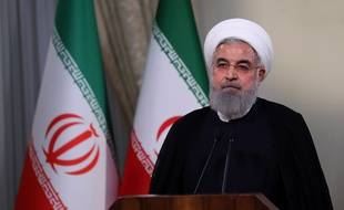 Hassan Rouhani le Président d'Iran 08/05/2018;Credit:AY COLLECTION/SIPA/1805091910
