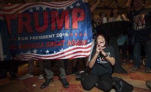 Des supporters de Donald Trump en Arizona, le 8 novembre 2016.