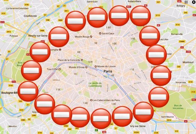 Le 1er octobre, lors de la 3e édition de la Journée sans voiture, les véhicules motorisés n'auront pas accès à Paris de 11h à 18h.