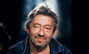 Serge Gainsbourg sur le plateau de l'emission «Zenith» à Paris, le 26 septembre 1988.