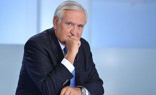 Jean-Pierre Raffarin, ancien Premier ministre et actuel sénateur UMP de la Vienne, le 6 octobre 2013
