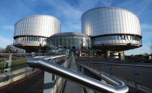 La CEDH à Strasbourg, le 24 janvier 2020.