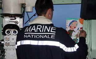 Un officier supérieur de la marine nationale a été roué de coups devant son domicile (illustration d'un marin