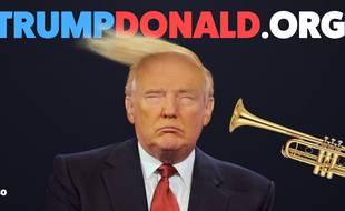 Un site propose de sonner un coup de trompette au visage du président américain
