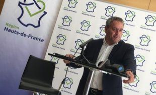 Lille, le 19 septembre 2016 - Xavier Bertrand president de la region Hauts de France